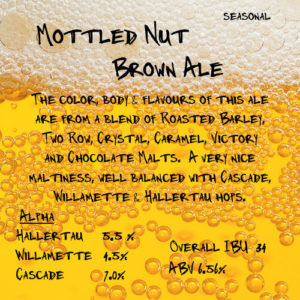 Mottled Not Brown Ale