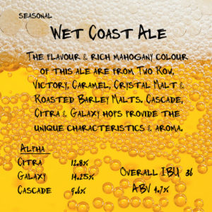 Wet Coast Ale